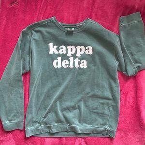 Comfort Colors Kappa Delta Sweatshirt